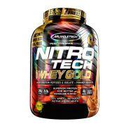 Nitro Tech 100% Whey Gold 5,5LB Muscletech Churros