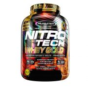 Nitro Tech 100% Whey Gold 5,5LB Muscletech Doce de Leite