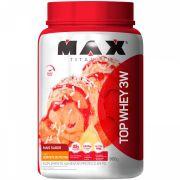 Novo Top Whey Sorvete de Frutas 900g - Max Titanium
