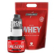 Nutri Whey Chocolate 1.8KG + Bcaa + Creatina 150G