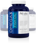 Omega 3 Fish Oil 1000MG 120 Caps Atlhetica