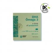 Omega 3 Vegano DHA 120 Caps 500 mg Ocean Drop