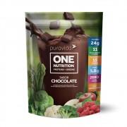 One Nutrition Vegan Proteins+Greens Chocolate 450g - PuraVida