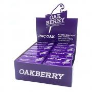 Display Paçoca Zero Açúcar com Açaí 20g - Oakberry 24 Un