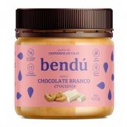 Pasta Castanha de Caju Chocolate Branco Crocante 450g  Bendú