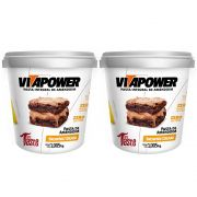 Pasta de Amendoim 1Kg Brownie 2 Un Cream Vitapower