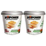 Pasta de Amendoim 1Kg Coco 2 Un Vitapower
