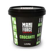 Pasta de amendoim 1kg Crocante - Mani force