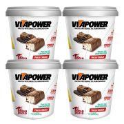 Pasta de Amendoim 1kg Press Cream Vita Power 4 Un