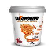 Pasta de Amendoim 454kg Crunchy Bacon Vita Power