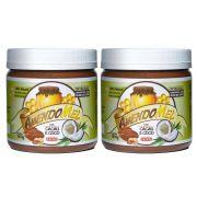 Pasta de Amendoim Amendomel Cacau e Coco 1 Kg 2 un
