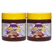 Pasta de Amendoim Amendomel Crocante e Cacau 1 Kg 2 Un