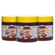 Pasta de Amendoim Amendomel Crocante e Cacau 1 Kg 3 Un