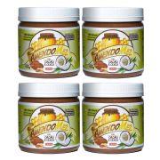 Pasta de Amendoim Amendomel Cacau e Coco 1 Kg 4 Un