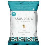 Pipoca Artesanal 150g Caramelo e Coco - Mais Pura