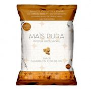 Pipoca Artesanal 150g Caramelo e Flor de Sal - Mais Pura