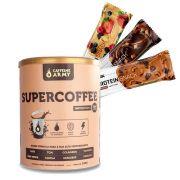 Supercoffee 220g + 3 Un Proteinsnack