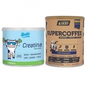 Supercoffee 220g Chocolate e Creatina Vegana Mais Mu 210g