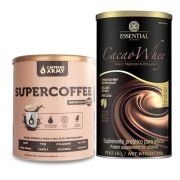 Supercoffee 220g Caffeinearmy + Cacao Whey 450g