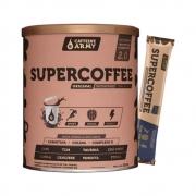 Supercoffee 2.0 220G Caffeinee Army e 1 Sachê de Supercoffee To Go Impossible Chocolate