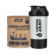 Supercoffee Chocolate 220g + Coqueteleira Caffeinearmy