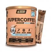 Supercoffee Vanilla Latte 220g - Caffeine Army e 1 Sachê de Supercoffee To Go 2.0