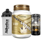 Tast Whey 2 LB Cookies  + Bcaa Platinum 60 Caps + Bottle