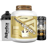 Tast Whey 5 LB Cookies  + Bcaa Platinum 60 Caps + Bottle