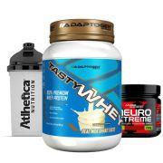 Tasty Whey 2LB Vanilla + Neuro Xtreme Laranja C/ + Bottle