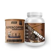 Tasty Whey Chocolate 2.0 Lbs e Supercoffee Choc 220g