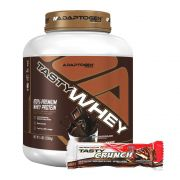 Tasty Whey Chocolate 5Lb + Tasty Bar Chocolate Chip 51g