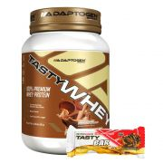 Tasty Whey Chocolate P/ Butter 2Lbs + Tasty Bar 51g