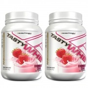 Tasty Whey Strawberry 2 LBS - 50% OFF na 2 Unidade