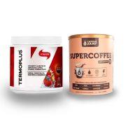 Termo Plus 240g Frutas Vermelhas + Supercoffee 220g