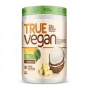 True Vegan Chocolate Branco com Coco 418g - Treu Source