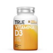 True Vitamina D3 60 Caps - True Source