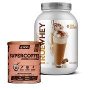 True Whey Cappuccino 837g + Supercoffee 2.0 220g