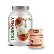 True Whey Coco Ice Cream 837g + Supercoffee 220g