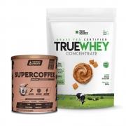 True Whey Concentrado Doce de Leite 900g e Supercoffee 2.0