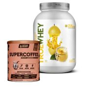 True Whey Mousse de Maracujá 837g + Supercoffee 2.0 220g