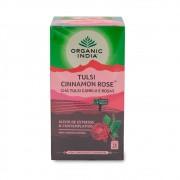 Tulsi Cinnamon Rose Canela e Rosas Alivio Estresse