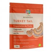 Turkey Tail Cogumelo Desidratado em Pó 100g - Viva Regenera