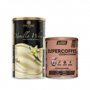 Vanilla Whey 900g e Supercoffee 220g 2.0