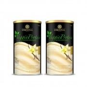 Veggie Whey Protein Baunilha 455G Essential 2 Un