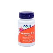 Vitamina D-3 2000 Ui 6mg 120cáps - Now Sports