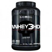 WHEY 3HD 900g Morango Black Skull