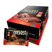 Whey Bar Crunch Chocolate - Caixa com 8 un
