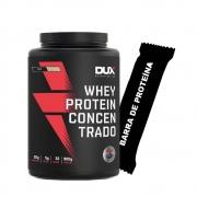 Whey Concentrado 900g Coco + Barra de Proteína
