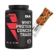 Whey Concentrado 900g Cookies + Proteinsnack Castanha