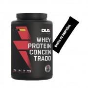 Whey Concentrado Dux 900g Banana + Barra de Proteína